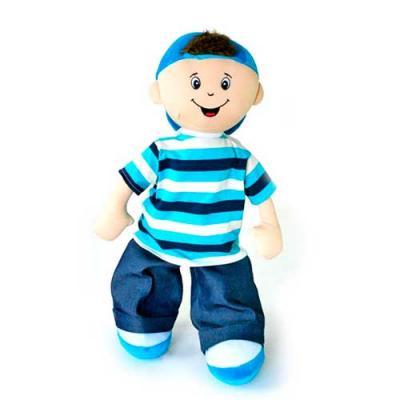 Boneco Francisco. Boneco de Pelúcia Personalizável. Disponível em diversos tamanhos.