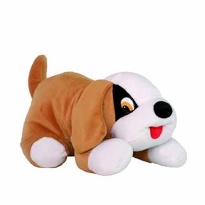 Cachorro Toty 2001, personalizável. Disponível na cor caramelo. Tamanho 30cm.