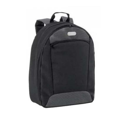 Mochila para notebook. 600D2Tone e 300D. Compartimento com divisória almofadada para notebook até...