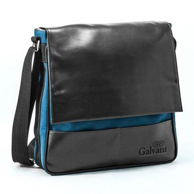 - Bolsa carteira com 2 bolsos externos, bolso interno com zíper, alça de ombro e fechamento com botão ímã.