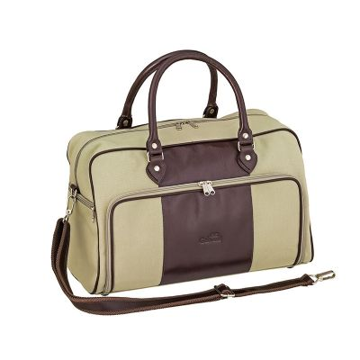 Galvani - Bolsa de viagem com 2 bolsos laterais e 1 frontal.