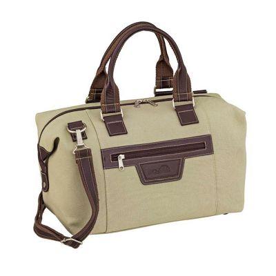 Galvani - Bolsa de viagem com alça de mão e de ombro bolso externo.