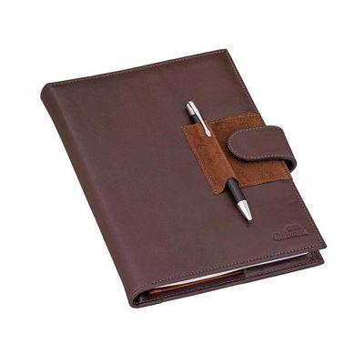 Galvani - Capa para caderno espiral com caneteiro.