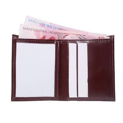 galvani - Carteira com porta notas, porta cartões e porta carteira de habilitação em PVC.