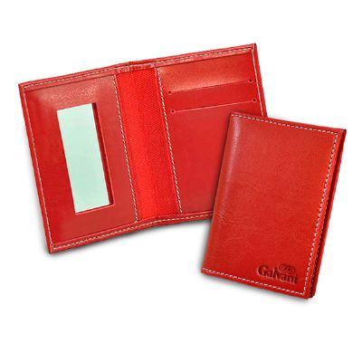 Galvani - Porta cartão feminino com espelho.