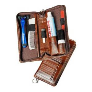 Galvani - Kit barba contendo 1 pincel, 1 creme, 1 aparelho de barbear.