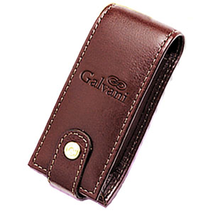 galvani - Porta Batom Personalizado Único com espelho, todo pespontado, fechamento com colchete de pressão.