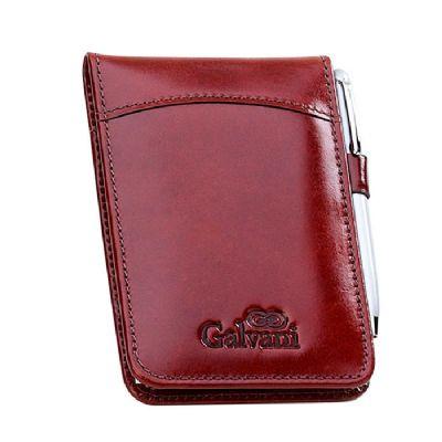 Galvani - Porta-bloco de anotações com bloco de 50 fls.