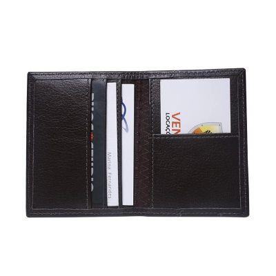 Galvani - Porta cartões contendo uma divisória do lado direito.