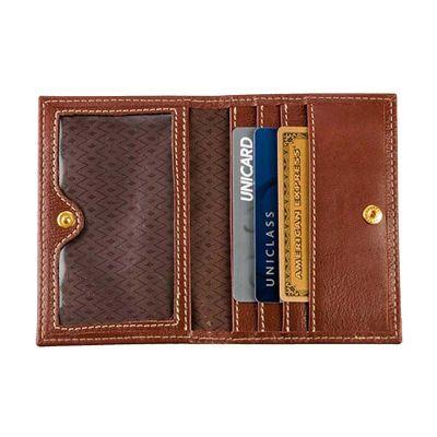 galvani - Porta cartões de visita com várias divisões e visor em pvc.