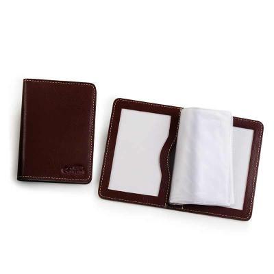 galvani - Porta documento com 2 visores em pvc 4 divisões plásticas.