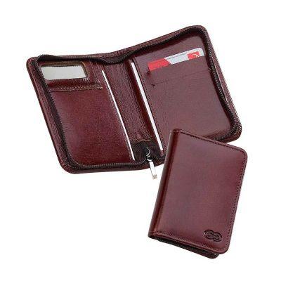 galvani - Porta documento com porta cartões.