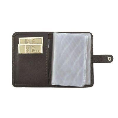Galvani - Porta documentos com 6 divisões plásticas.