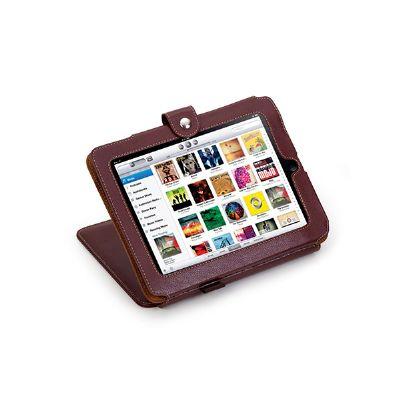 Porta iPad com apoio e porta cartão