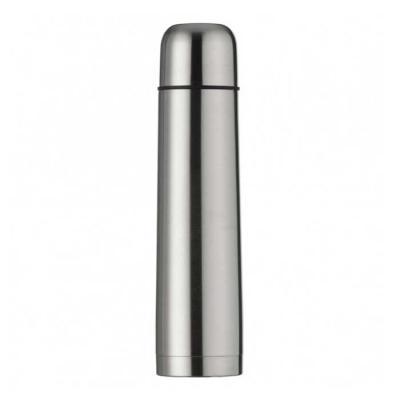 Garrafa térmica 1L em inox com tampa rosqueável, tampa interna em plástico resistente(basta um cl...
