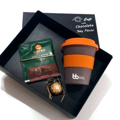 Kit Café Orfeu, Chocolate e Copo
