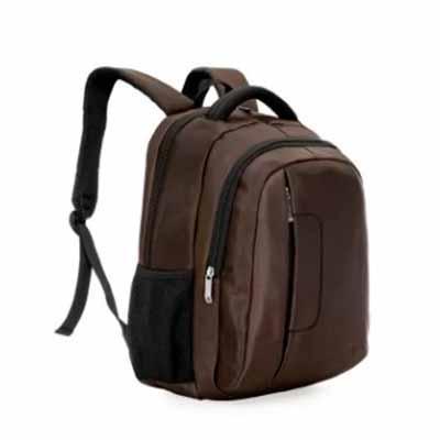 Mochila em poliéster com compartimento principal com bolso para notebook 14 polegadas, compartime...