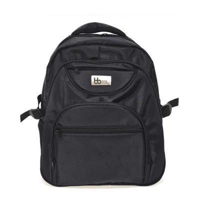 Mochila em Nylon 420 com porta notebook com 1 compartimento Grande com bolso Interno, 1 compartim...