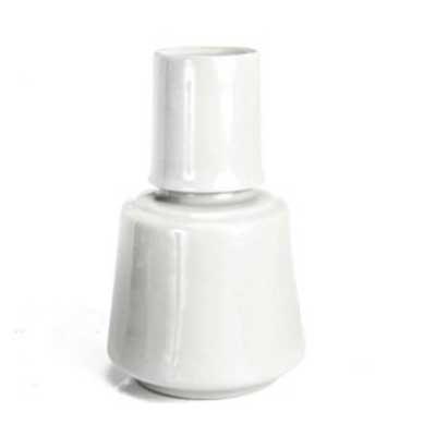 Moringa de Porcelana com copo 750 ml ALTURA: 19 CM DIÂMETRO DA BOCA: 11 CM MATERIAL: PORCELANA CO...