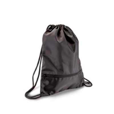 Mochila tipo sacola com capacidade de 13,5 litros e bolso frontal com zíper. Informações Adiciona...