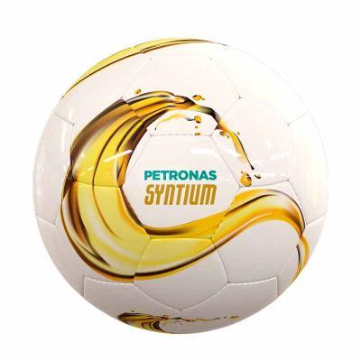 Bola de campo oficial personalizada. costurada a mão, 32 gomos confeccionada em material sintétic...