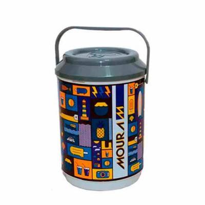 Cooler para cerveja personalizado Dimensões: 39,0 x 36,5 cm Capacidade: 24 a 30 latas Matéria pri...