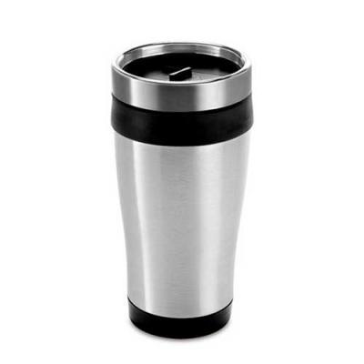 Copo térmico para café personalizado Medidas: ø81 x 167 mm Capacidade: 420 ml Tipo de gravação: l...