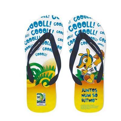 Sandálias promocionais para empresas Peso: variável Dimensões: variável Varias cores Matéria prim...