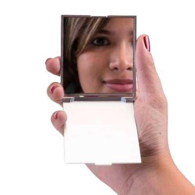 Espelho plástico retangular