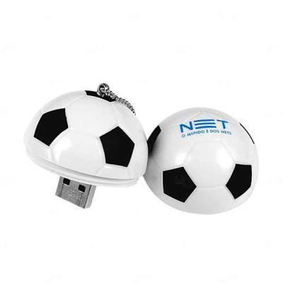 Pen Drive Personalizado Bola de Futebol