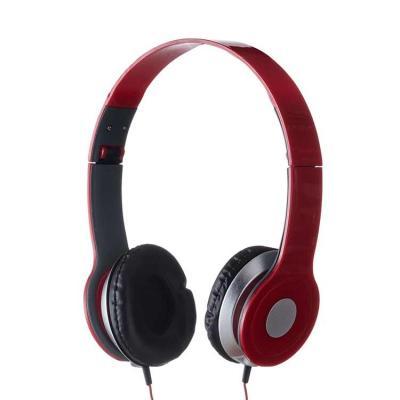 Fone de Ouvido Estéreo CB 12613 vermelho (1)