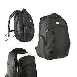 Davanas Original Gifts - Mochila 3 divisórias, bolsos laterais, compartimento para laptop