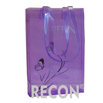 recon - Sacola em PVC transparente colorido