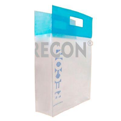 recon - Sacola em PVC transparente