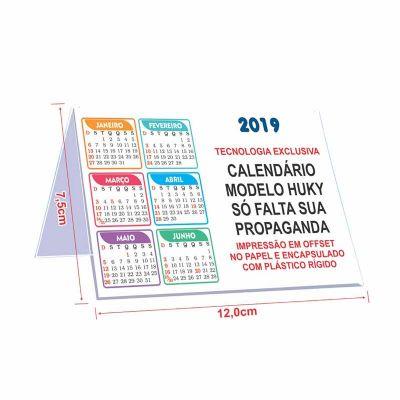 Hukyplast - Calendário de mesa pequeno