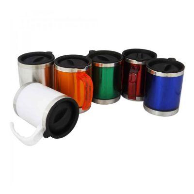Caneca metálica para gravação em laser