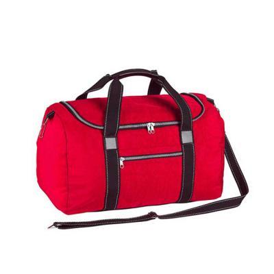 Roar Material Promocional - Bolsa de viagem, tamanho médio. Esta bolsa contem um espaço para seus itens pessoais. Prática e resistente.