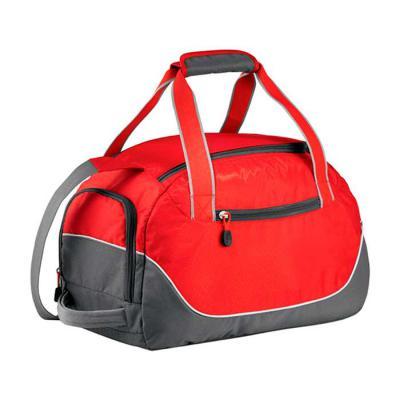Bolsa de viagem pequena. Com três tipos de alças facilitando para carregar, e espaço separado par...