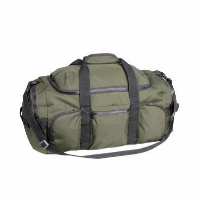Bolsa de viagem grande. Cheia de bolsos e compartimentos essa bolsa vai levar tudo o que você pre...