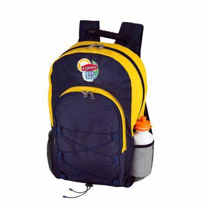 roar-material-promocional - Mochila simples tamanho médio com três bolsos