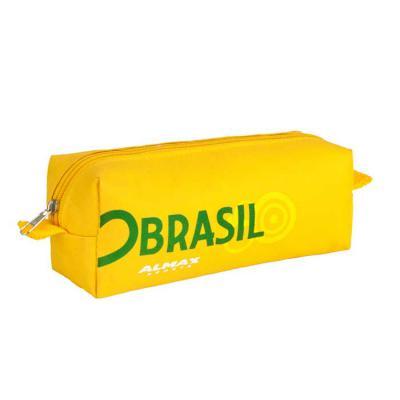 Roar Material Promocional - Necessaire pequena. Essa necessaire tem o tamanho de um estojo, é ideal para escolas, escritórios.