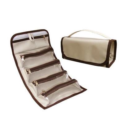 roar-material-promocional - Necessaire média, com 5 bolsos. Ideal para você que gosta de organizar seus pertences.