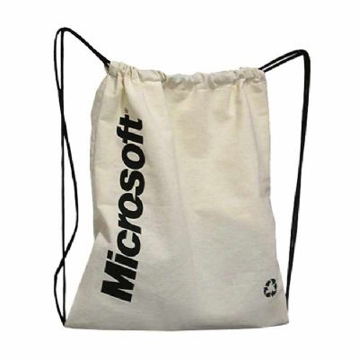 Saco mochila em Lona - Roar Material Promocional