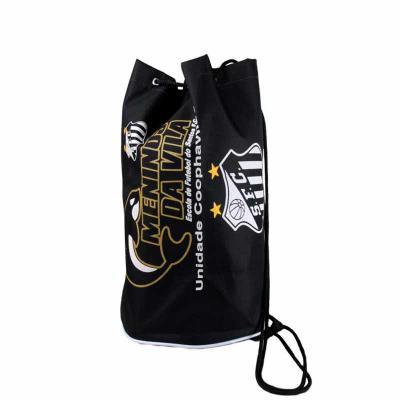Roar Material Promocional - Saco mochila de fechamento em cordão lateral