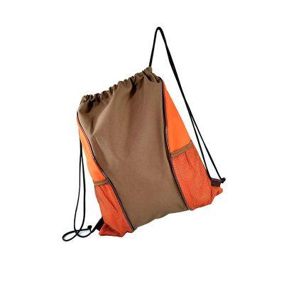 roar-material-promocional - Saco Mochila com bolso em tela