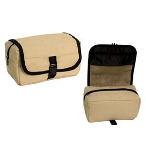 Roar Material Promocional - Nécessaire em lona ecológica com bolso interno em tela fechado por zíper.