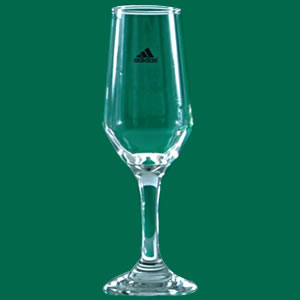 Kosmos Decorações - Taça de champanhe, confeccionada em vidro fino no modelo Bistrô, capacidade para 186 ml.