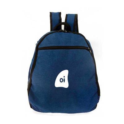 - Mochila para notebook, medidas: 31x44x13 cm ,  em oxford, alça com espuma PAC grossa, bolsos laterais em tela Spencer, 2 bolsos frontais, super resist...