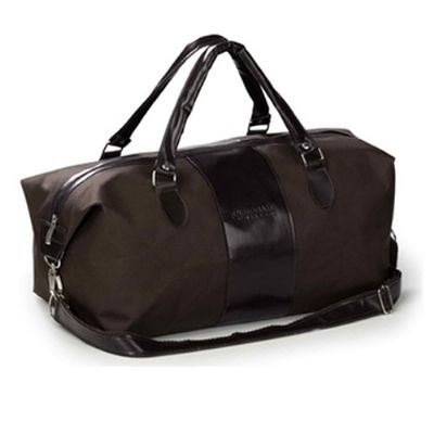 S & S Bolsas - Bolsa de viagem. Medida: 44x24x24 cm. Material: Oxford ou couro sintético.