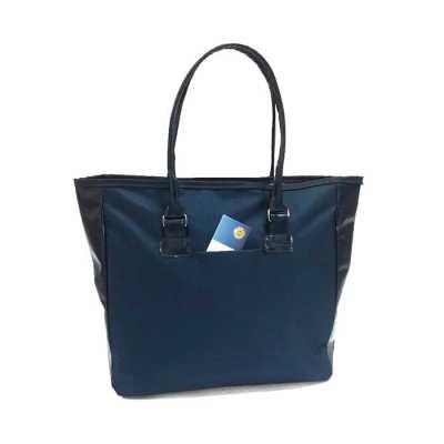 Bolsa feminina em nylon e couro sintético - S & S Bolsas
